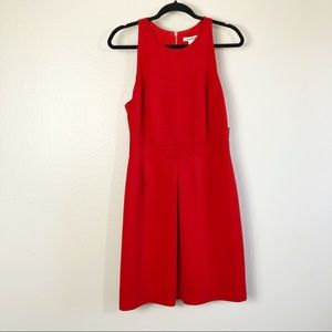 NWT Laundry By Design Fiery Red Sleeveless Dress